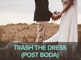 TRASH THE DRESS (POST BODA)